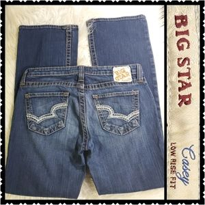 Big Star Casey Low rise 31R bootcut jeans